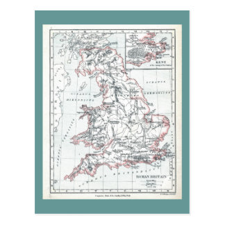 La Grande-Bretagne 400AD Carte Postale