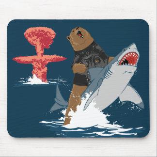 La grande évasion - cavalerie de requin d'ours tapis de souris