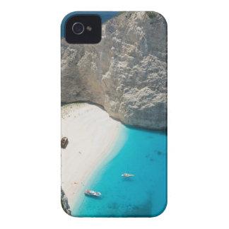 La GRÈCE, îles ioniennes, ZAKYNTHOS, NAUFRAGE Étui iPhone 4