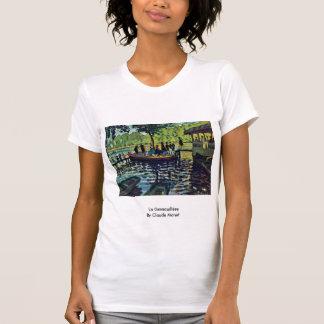 La Grenouillère By Claude Monet T-Shirt