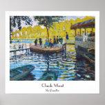 La Grenouillere Claude Monet fine art painting