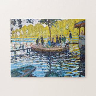 La Grenouillere Claude Monet fine art painting Puzzles