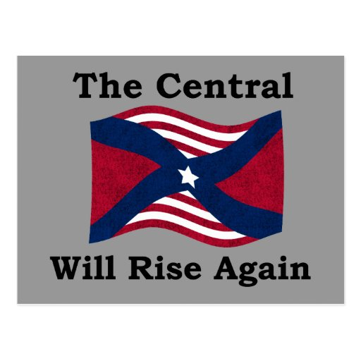 La guerre civile charrient carte postale