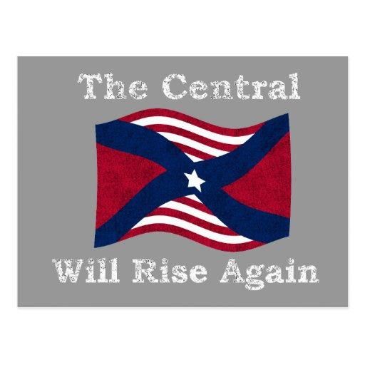La guerre civile charrient cartes postales