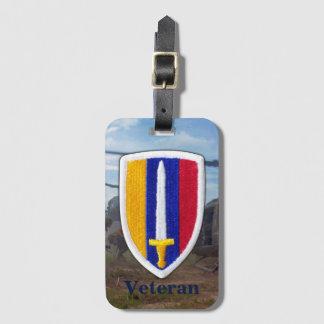 La guerre de l'armée USARV Vietnam Nam contrôle la Étiquette À Bagage