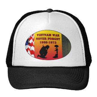 La guerre de Vietnam n'oublient jamais Casquettes