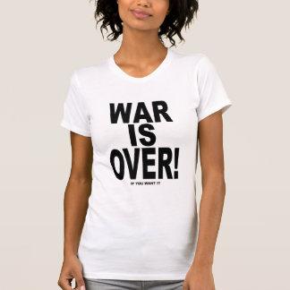 La guerre est terminée si vous la voulez t-shirts