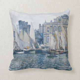La Havre Museum Monet Throw Pillow
