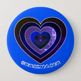 La Heart es Mi Favorito!! 4 Inch Round Button
