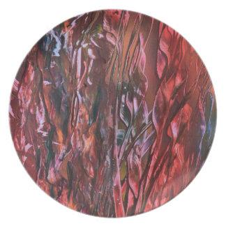 La hierba ardiente plate