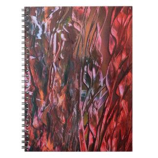 La hierba ardiente spiral notebook