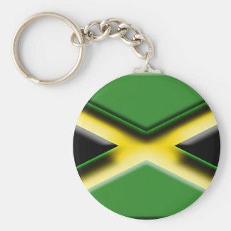 La Jamaïque (drapeau d'artiste) Porte-clés
