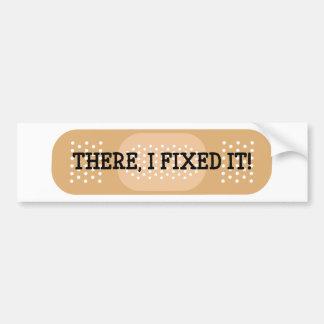 Là, je l'ai fixé ! Bandage Autocollant De Voiture