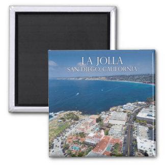 La Jolla California, USA Square Magnet