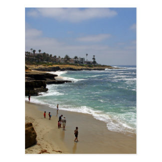 La Jolla Cove Beach Postcard