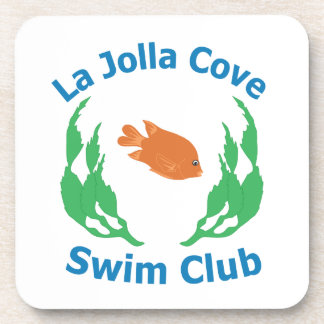 La Jolla Cove Swim Club Logo Coasters