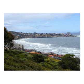 La Jolla Ocean Beach Cliffs Postcard