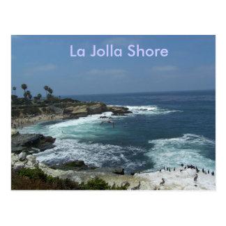 La Jolla Shore Postcard
