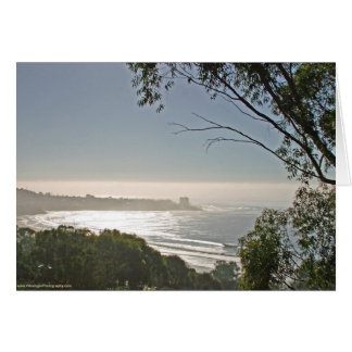 La Jolla Shores from Scripps greeting card