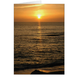 La Jolla Sunset Card