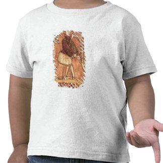 La justice de distribution de roi t-shirts