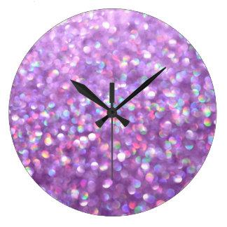 La La Lavender Large Clock