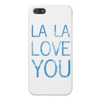 LA LA LOVE YOU COVERS FOR iPhone 5