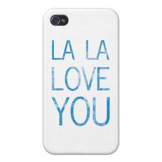 LA LA LOVE YOU iPhone 4/4S CASE