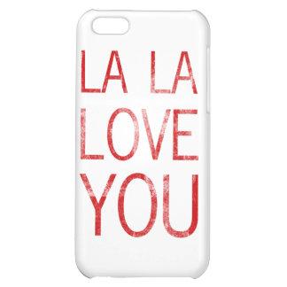 LA LA LOVE YOU COVER FOR iPhone 5C