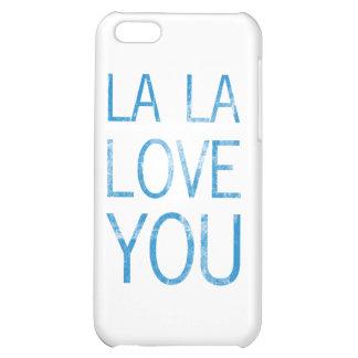 LA LA LOVE YOU iPhone 5C COVERS