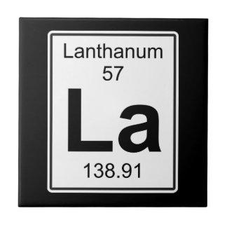 La - Lanthanum Tile