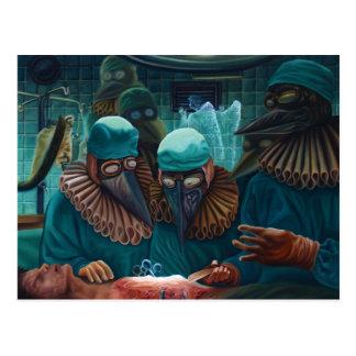 La leçon d'anatomie postcard