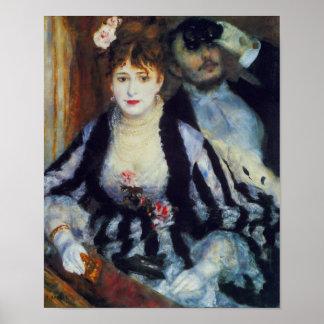 La Loge by Auguste Renoir Fine Art Print