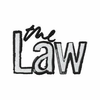 La loi - brodée - polo rouge