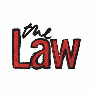 La loi - brodée - T-shirt (blanc)