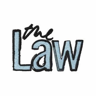 La loi - brodée - T-shirt (bleu)