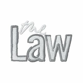 La loi - polo brodé (noir)