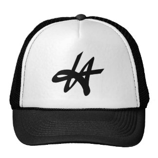 LA Los Angeles graffiti tag logo design Trucker Hat