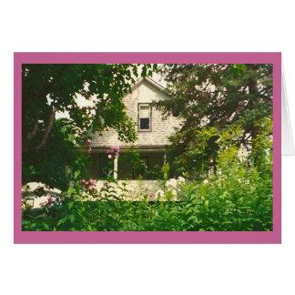 La maison d'Ellen Carte De Correspondance