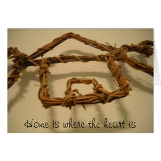 La maison est où le coeur est carte