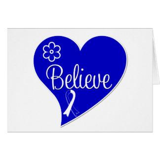 La maladie de SAL Lou Gehrig croient le coeur Cartes De Vœux