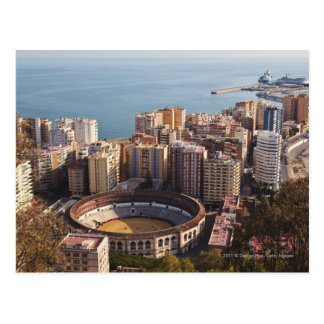 La Malagueta Bullring And Port Postcard