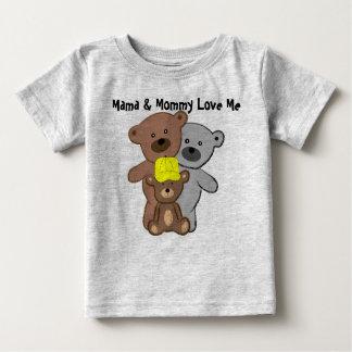 La maman et la maman m'aiment t-shirts
