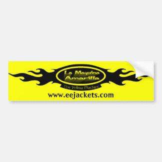 La Maquina Amarilla Logo Bumper Sticker