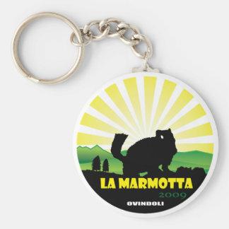 La Marmotta 2009 Keychain