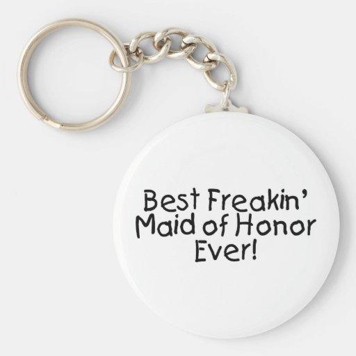 La meilleure domestique de Freakin de l'honneur ép Porte-clefs