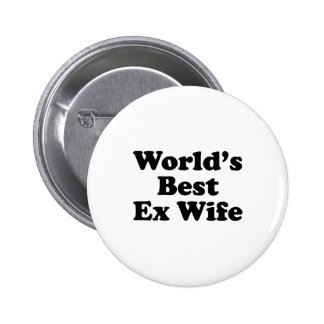 La meilleure épouse ex du monde badges avec agrafe