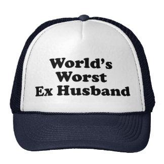 La meilleure épouse ex du monde casquettes