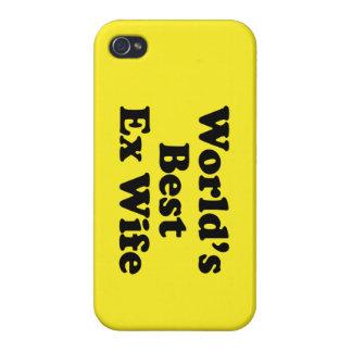La meilleure épouse ex du monde étui iPhone 4