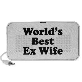La meilleure épouse ex du monde haut-parleurs mobiles